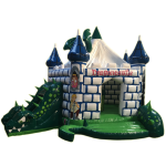 Dragon Castle with Obstacle green